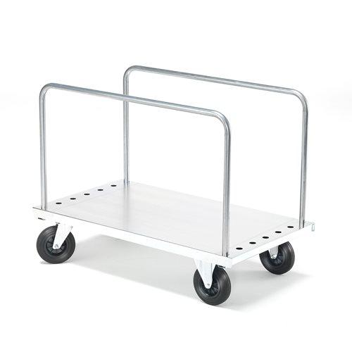 Wózek z obręczami