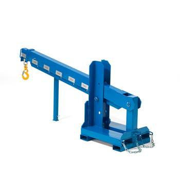 Fork mounted extending jib, 500x3600 mm