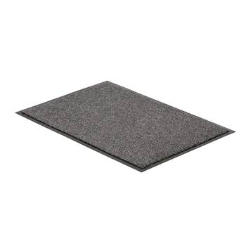 Super absorbent entrance mat, 600x900 mm, grey