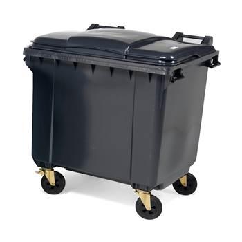 Pojemnik na śmieci poj. 1000 l szary
