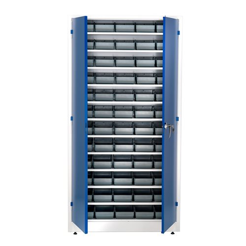Small parts cabinet: 1900x1000x400mm: 60 bins