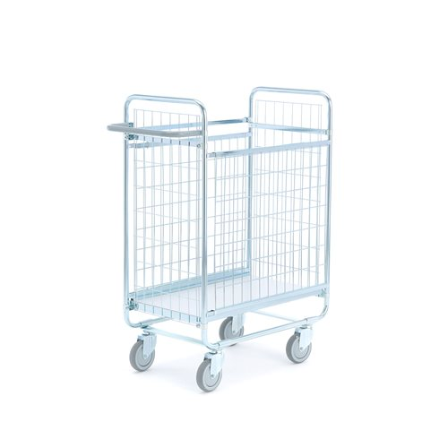 Parcel trolley: L 800 mm
