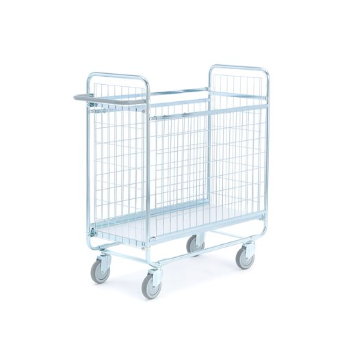 Wózek z siatki duży