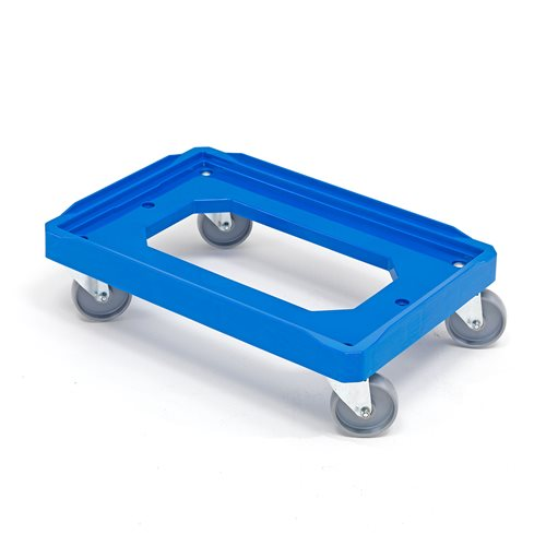 Plastic box dolly: 150 kg