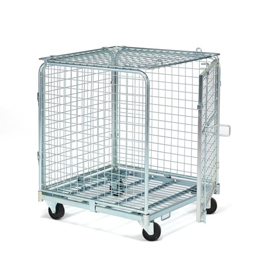 """Triton"" lockable cage trolley"