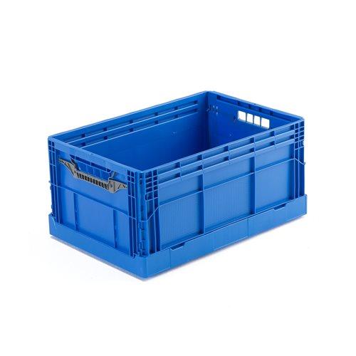 Klappbox, blå