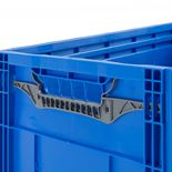 Varastolaatikko, kokoontaitettava, sininen, 600x400x285 mm