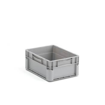 Plastback Euro, 15 liter, 400x300x175 mm, grå