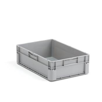 Euro plastic boxes, 32 l. 600x400x175 mm, grey