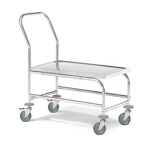 Stainless steel platform trolley: 150kg