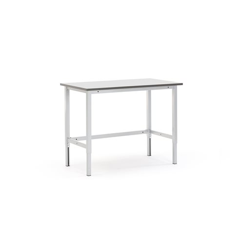 #en Worktable 1200 x 600 mm, grey
