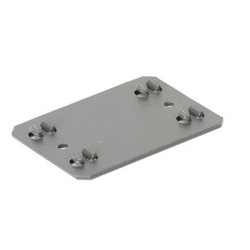 Extension plate for 'Combo' shelving system