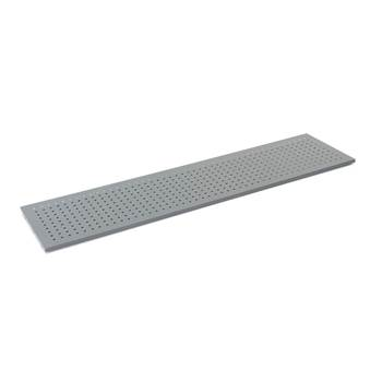 Tool panel for 'Combo' shelving system: 1780x450 mm: Grey