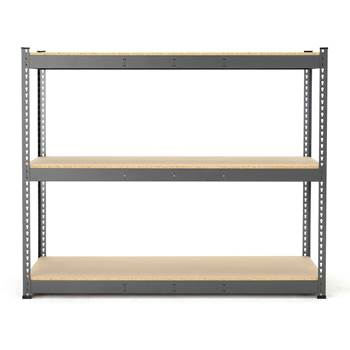 Combo shelving system, basic unit, 1530x1840x620 mm