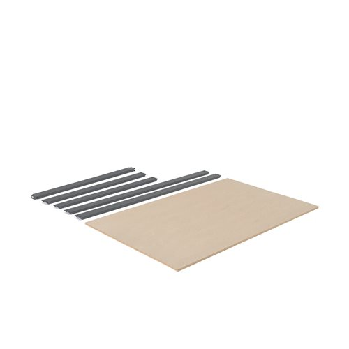 Extra shelf for 'Combo' shelving system: 1840x1230 mm