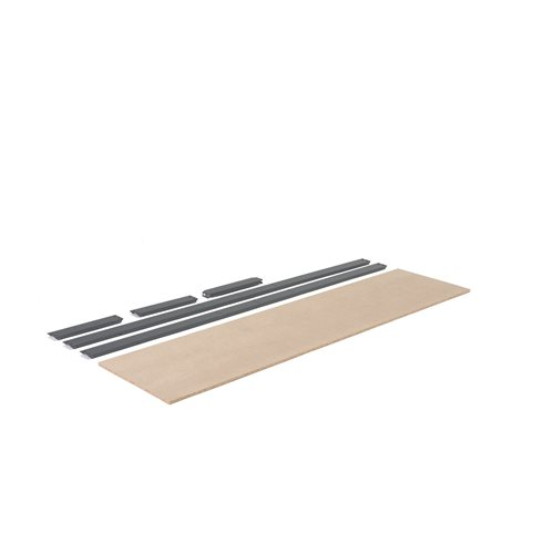 Extra shelf for 'Combo' shelving system: 2440x620 mm