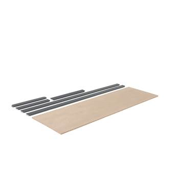Extra shelf for 'Combo' shelving system: 2440x775mm