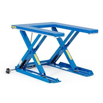 Low U-lift table