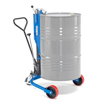 Hydraulic drum trolley, 250 kg load