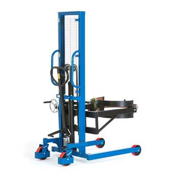 Drum lifter: 120° tilt: 400 kg