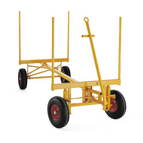 Wózek do długich przedmiotów Nośność 2,5t, Koła 450mm