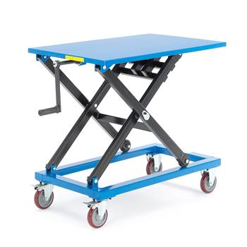 Manual lift table, 300 kg load, 950x600x440-1000 mm