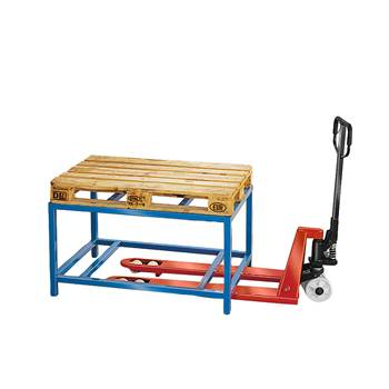 Pallet table, 1200x800x650 mm