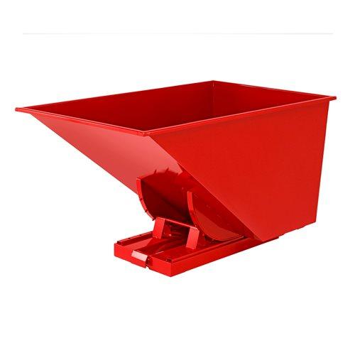 Kippikontti, 1100 litraa, punainen