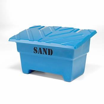 Sandkasse, 550 liter, blå