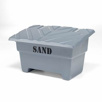 Sandlåda, 550 liter, grå