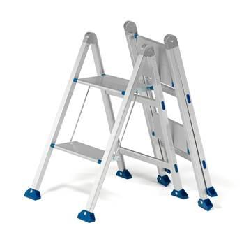 Arbetstrappa, 2 steg, höjd: 540 mm