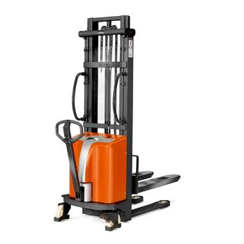Battery stacker, 1000 kg load, 2500 mm lift