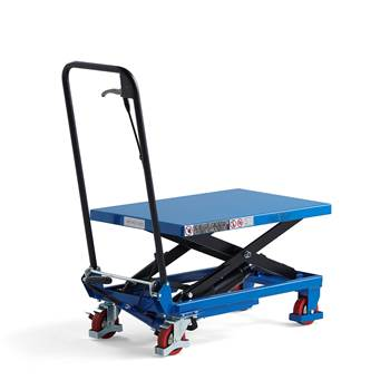Lift trolley, 150 kg load, 220-720 mm lift height