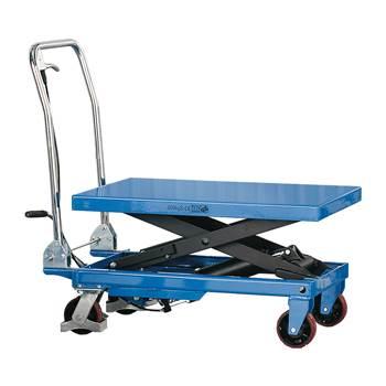 Hydraulisk Løftevogn, 300 kg, blå