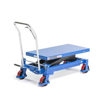 Lift trolley, 750 kg load, 420-900 mm lift height
