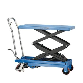Lift trolley, 350 kg load, 355-1300 mm lift height