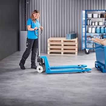 """Transport"" pallet truck: nylon/single nylon wheels"