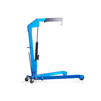 Folding workshop crane, 1000 kg load