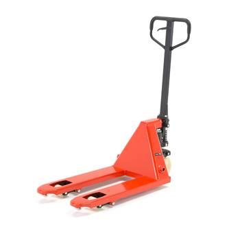 Jekketralle, kapasitet: 2200 kg, gaffellengde: 810 mm, nylon/singel