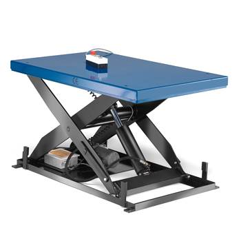 Stół podnoszący, Obciążenie:1000 kg, Rozmiar:1300x800