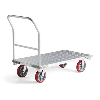 Plattformsvagn aluminium
