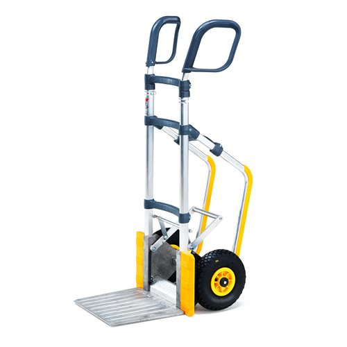 Height adjustable easy-tip warehouse cart: 250kg