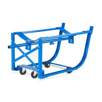 Mobile drum cradle, 300 kg load