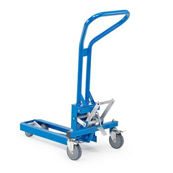 Mechanical lifter for retail, 200 kg load, 95-120 mm lift height