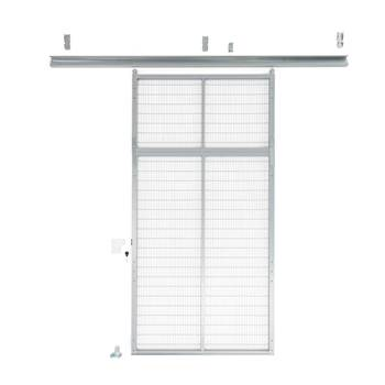 Sliding door, L/H, 1400x3000 mm, padlock