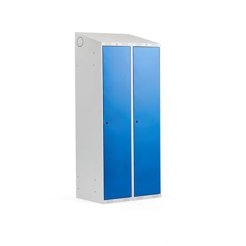 Pukukaappi,vinokatto, 2 osaa, 400 mm, sininen