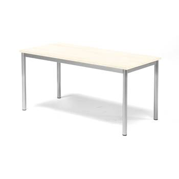 Stół Pax, 1200x600x600 mm, dźwiękochłonny HPL,björklaminat