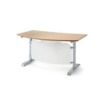 Korkeussäädettävä pöytä Småland, 1200x700 mm, pyökki