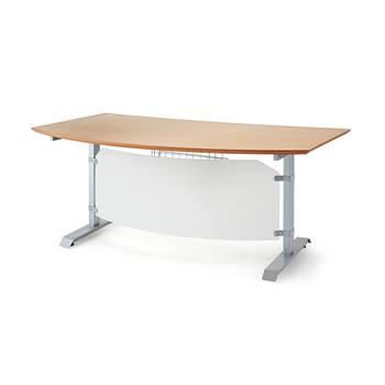 Korkeussäädettävä pöytä Småland, 1500x700 mm, pyökki
