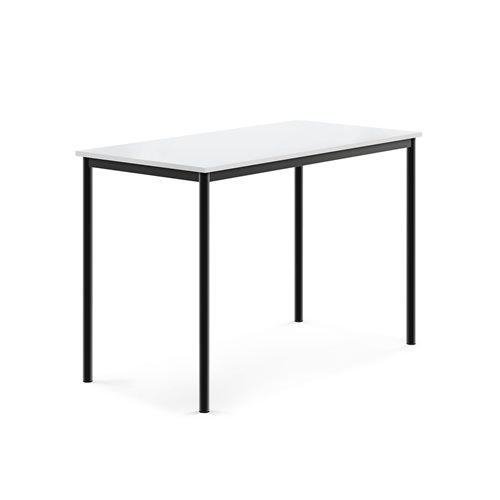 Pöytä Borås, HPL, (KxPxL) 900x1400x700 mm, Musta, Valkoinen